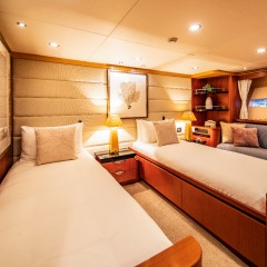 Extended Private Charter Boat | Up to 12 GuestsPort Aft Cabin Split