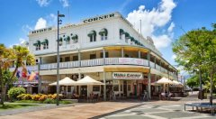 Exterior of Hides Hotel Cairns - located in Cairns City Centre