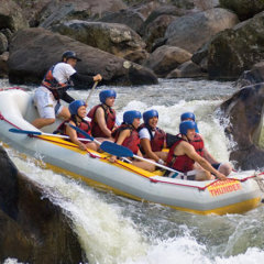 Extreme white water rafting Cairns & Mission Beach