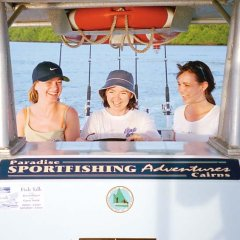 Family fishing tours Cairns