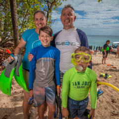 Family Friendly Breat Barrier Reef Island Trip