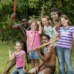 Family Fun Day Out | Tjapukai Spear Throwing