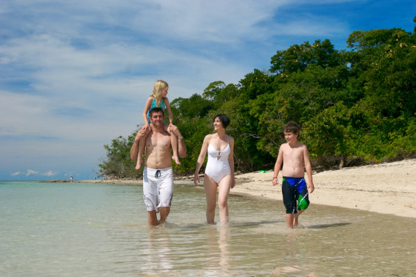 Family Holiday at Green Island