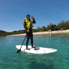 Family Reef Trip To Frankland Islands, so much to do | Stand Up Paddle Board