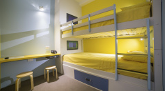 Family Room - Kids Zone with Bunk Bed and 2 LCD TV's - Great Family Friendly Cairns Accommodation