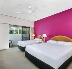 Cairns Family Suite - Accommodates up to 2 Adults & 3 Children