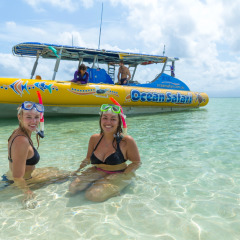 Fast Boat Transfer To The Great Barrier Reef | Snorkel From The Cay