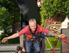 Feeling pretty relaxed about my bungee jump