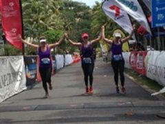 Finishing Line at Port Douglas