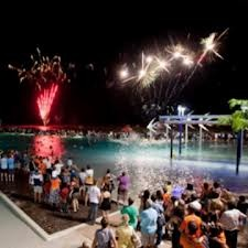 Fireworks at Cairns Lagoon