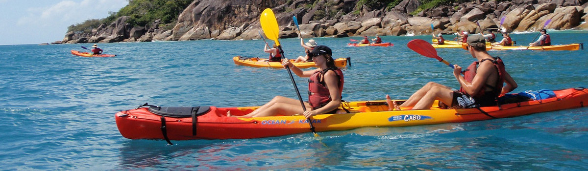 Fitzroy Island Day Tour | Kayak | Dive | Snorkel |Seabob and lot's more | Cairns Queensland Australia