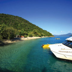 Fitzroy Island ferry transfers Great Barrier Reef Australia