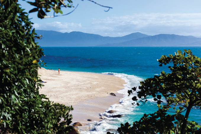 Photo Courtesy of Tourism and Events Queensland - Fitzroy Island Nudey Beach