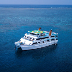 Floating Hotel On The Great Barrier Reef | Liveaboard Reef Trips From Cairns