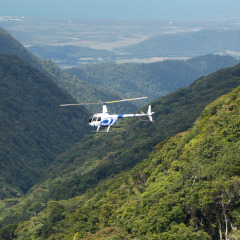 Fly around the mountains of Cairns and Port Douglas on your helicopter scenic flight
