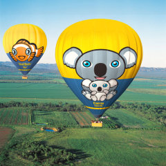 Cairns hot air balloon rides over the Atherton Tablelands
