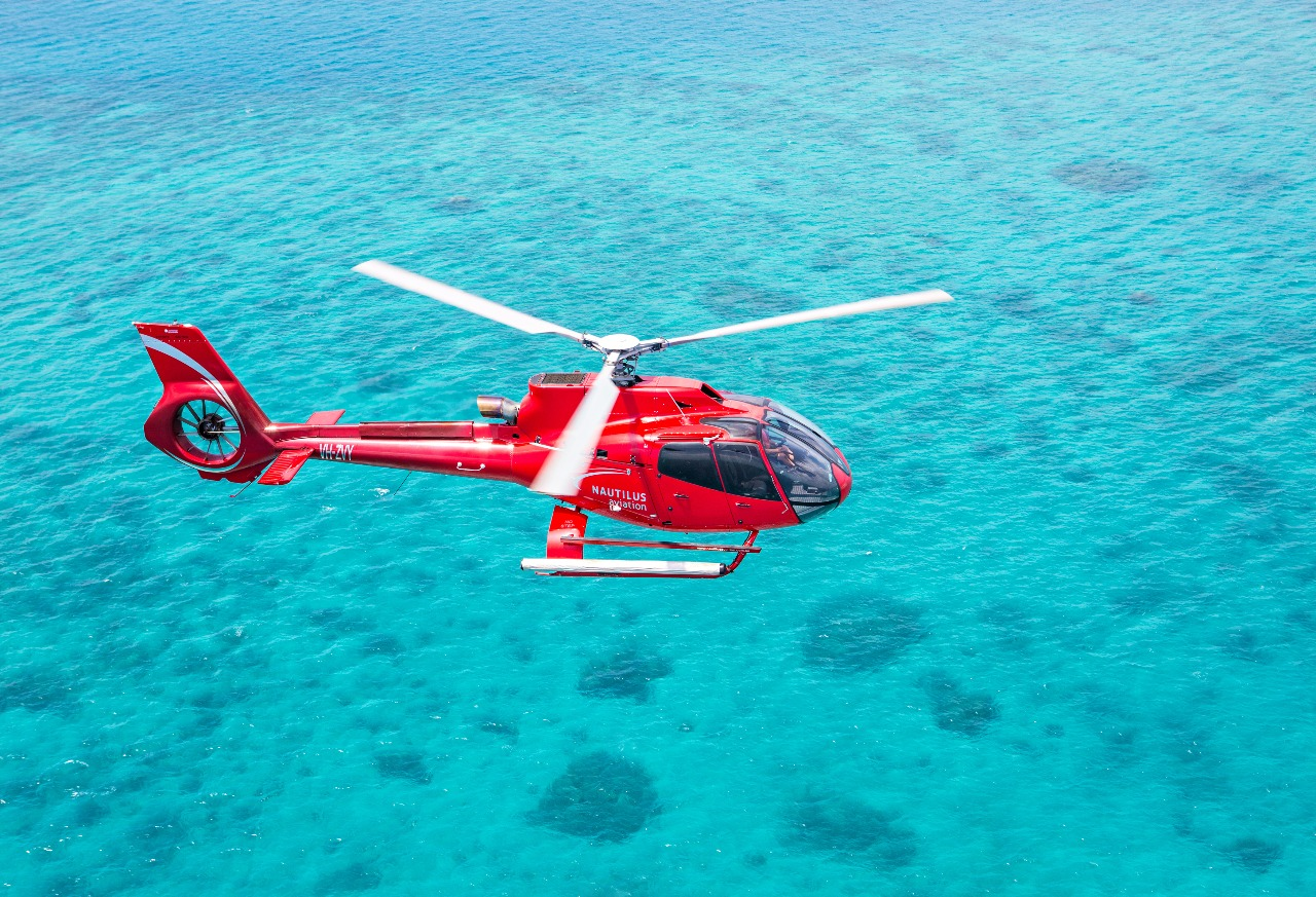 Helicopter Flight Great Barrier Reef Pontoon Packages Snorkel - Cruise and flight packages