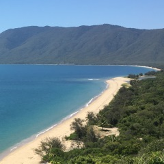 Aerial View Beach Port Douglas
