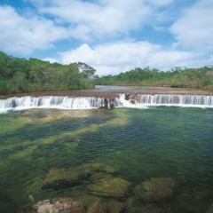 Fruit Bat Falls en route to Cape York