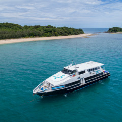 Full Day Great Barrier Reef Island Trip - Comfortable Modern Boat
