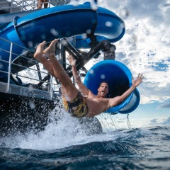 Full Day Moore Reef Platform | The Only Waterslide In Tropical North Queensland