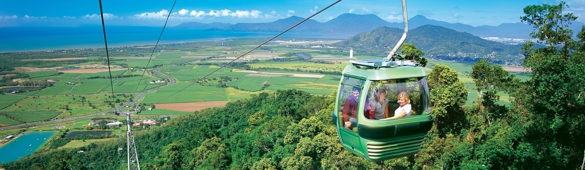 Full Day Tour Kuranda Tour, Kuranda Train, Skyrail Rainforest Cableway & Hartley's Crocodile Adventures