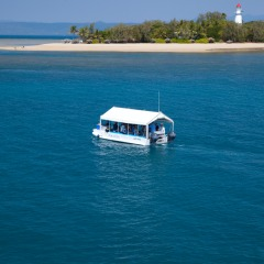 Great Barrier Reef Tour | Glass Bottom Boat Low Isles | Half Day Tour
