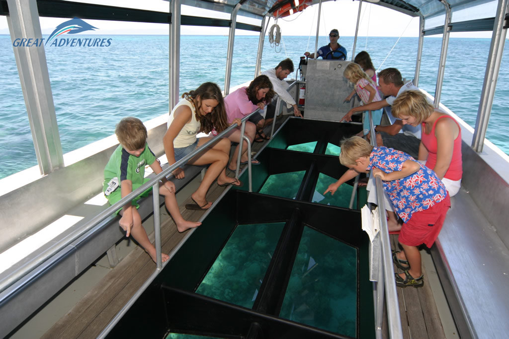 Fitzroy Island Cairns Glass Bottom Boat
