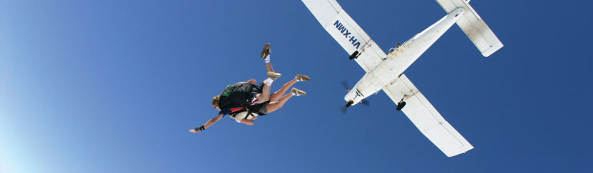 Cairns Adrenaline Tours & Attractions - Jumping from a plane in Cairns Queensland Australia
