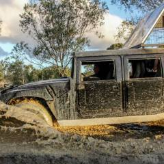 Going Bush Bashing In A Hummer On the Atherton Tablelands | Cairns Night Tour