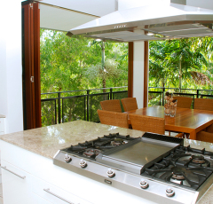 Gourmet Kitchen Facilities - Sanctuary Palm Cove Apartments