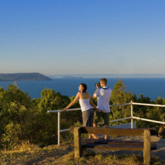 Lighthouse lookout on private charter tour to Cooktown
