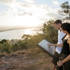 Grassy Hill Lookout on Private Charter Tour to Cooktown