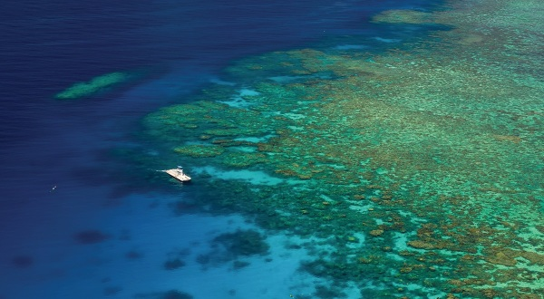 Great Barrier Reef Helicopter Flight