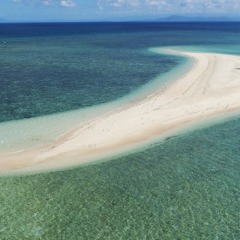 Great Barrier Reef Helicopter Tour | View of Upolo Cay