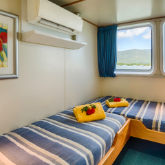 Great Barrier Reef Liveaboard | Standard Cabin With Ensuite Bathroom