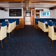 Great Barrier Reef Liveaboard Boat | Dining Room