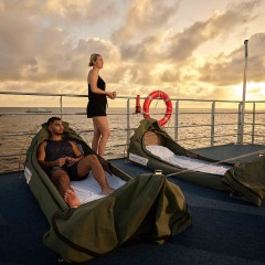 Great Barrier Reef Pontoon Sleepover