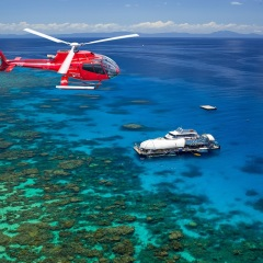 Great Barrier Reef Scenic Flight from Cairns - Helicopter Flights Cairns