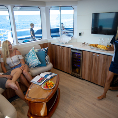 Great Barrier Reef Tours Cairns - Luxury Admirals Club Lounge Access