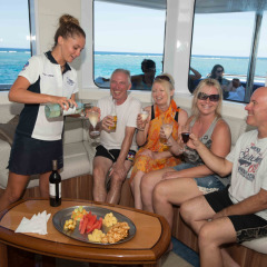 Great Barrier Reef VIP Lounge | All Day Marine Concierge Service