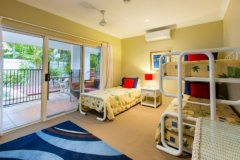 Great family accommodation - 4th Bedroom with Single Bed and Bunk Bed