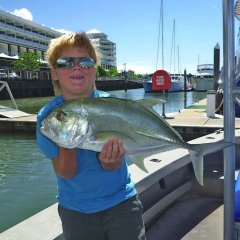 Great family tour - fishing in Cairns