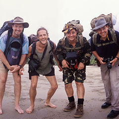 Group Adventure tours are good for team building in Cairns