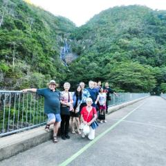 Group at Lower Barron Falls