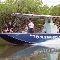 Half day and full day estuary fishing tours in Cairns