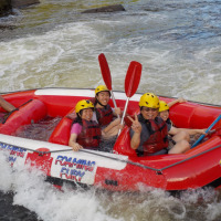 White Water Rafting in Cairns - Half Day Barron River Family Rafting