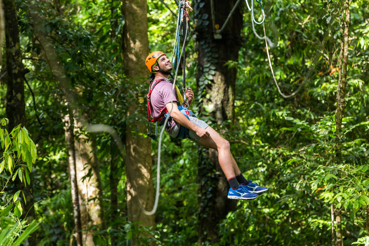 my canopy tour If you are looking for an extreme costa rica canopy adventure tour, this is your best choice it offers zip-lines through the trees, as well as exploration via hanging bridges.