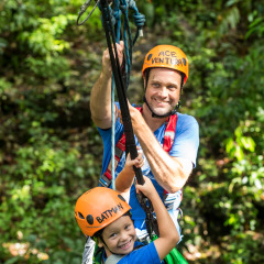 Happy Times in the Rainforest - Daintree Cape Tribulation Ziplining Tour