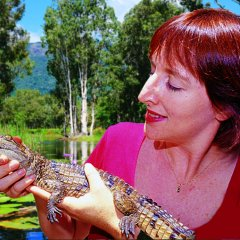 Have your photo taken holding a baby Alligator